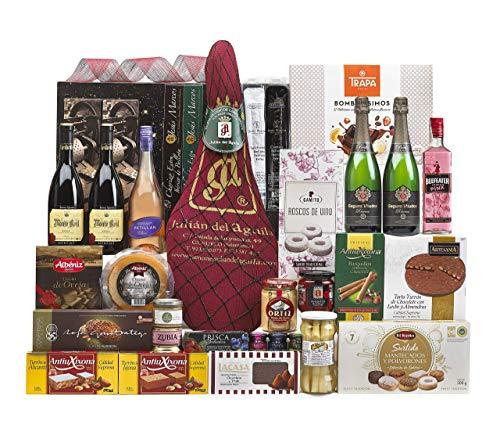 Lote Regalo Cesta de Navidad 2020 Gourmet · Regalo Personal o de Empresa · Agradecimiento Navideño. Incluye Opcionalmente Tarjeta Dedicada y Personalizada (Lote 12)