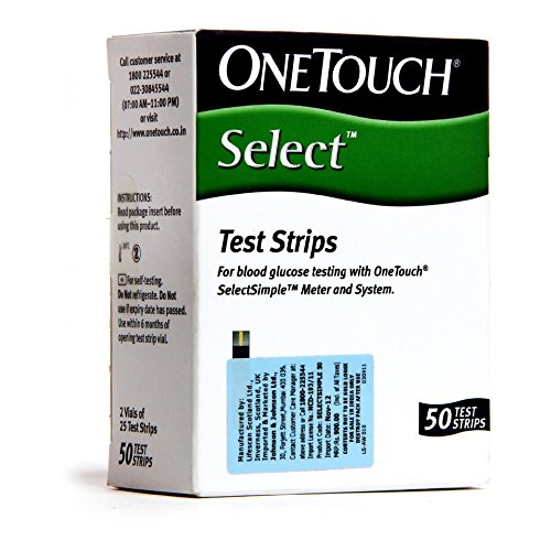 OneTouch Select 50 Test Strips by OneTouch Select