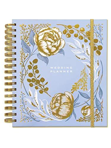 Rachel Ellen - Agenda per matrimonio, perfetta idea regalo di fidanzamento con sezioni, liste e tasche per matrimonio