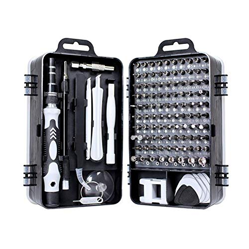 Yasoca Precision Screwdriver Set 115 in 1 Repair Tools Kit with Magnetic Driver Kit,Electronics Precision Screwdriver Set with Portable Bag for Repair Computer, Cell Phone, PC, iPhone,Tablets