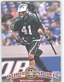2010 Upper Deck World of Sports #267 Nicky Polanco/Lacrosse/Lizards /