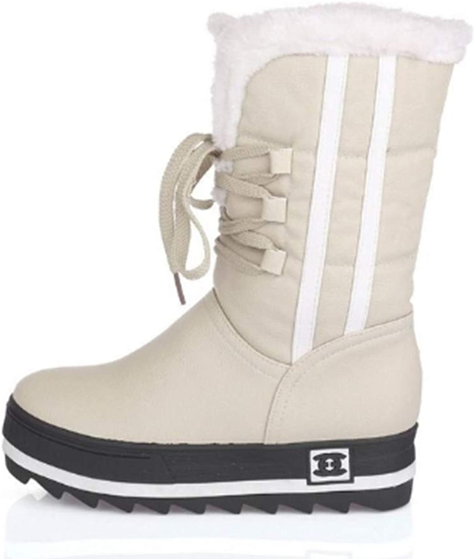 FMWLST Stiefel New Woherren schuhe Anti-Horizontal schuhe Winter Warm Warm Warm Anti-Skiing Stiefel  21f4a3