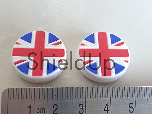 ShieldUp Tennis Racquet Vibration Dampeners | Union Jacks x 2