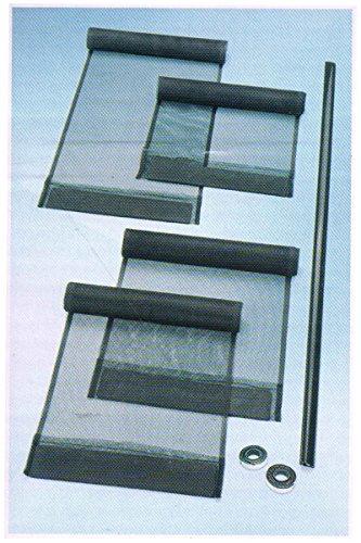 Powerfix® Fliegengitter-Lamellenvorhang Insektenschutz 272982 Anthrazit