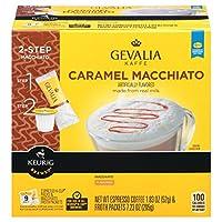 Gevalia Kaffe K-Cup Caramel Macchiato Espresso Coffee ゲバリア カフェ Kカップカラメルマキアートエスプレッソコーヒー9杯分 [並行輸入品]