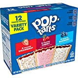 Pop-Tarts, Breakfast Toaster Pastries, Variety Pack, Proudly Baked in the USA, 20.3oz Box (Pack of 12)