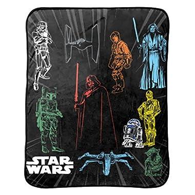 Star Wars Plush Throw, 46 x 60
