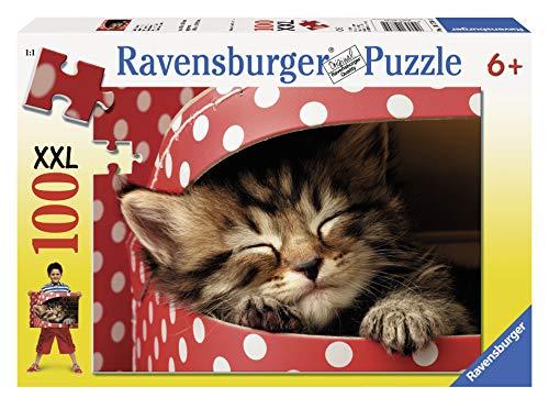Ravensburger - 10770 - Puzzle enfant - Chat - 100 Pièces