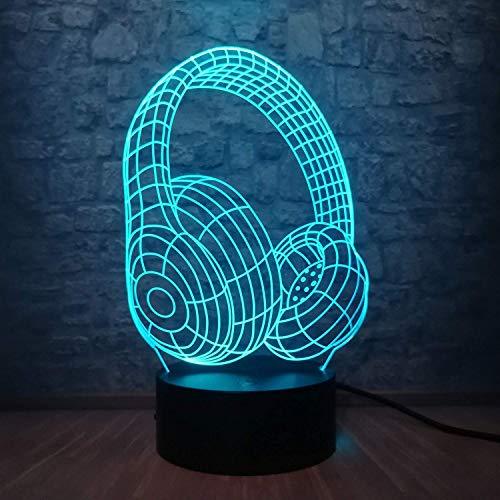 3D Night Light LED Drum Kit Gitaar instrument Cool Color voor kinderen jongens meisjes kinderen slaapkamer decoratie geschenk