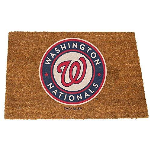 MLB Washington Nationals Gekleurde Logo Deurmat, One Mate, Multi kleuren