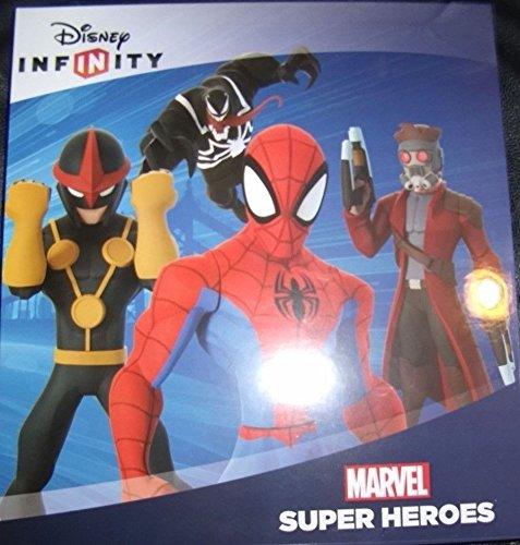 Disney Infinity 2.0 Marvel Spider-Man Power Disc Album Holds 42 Discs