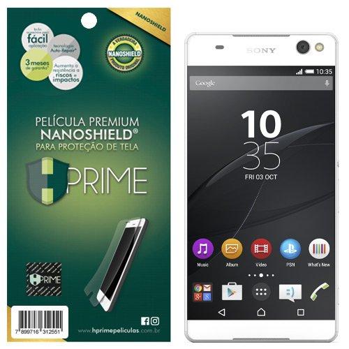 Pelicula HPrime NanoShield para Sony Xperia XZ Premium, Hprime, Película Protetora de Tela para Celular, Transparente