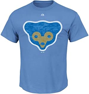 Majestic Chicago Cubs Youth 1969 Cooperstown Bear T-Shirt