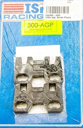 Dart 3//8 in Adjustable Pushrod Guide Plates Raised BBC 4 pc P//N 27001230-4