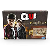 Hasbro Gaming Clue: Wizarding World Harry Potter Edition Mystery Board Game for 3-5 Players, Kids Ages 8 and Up (Amazon Exclusive)