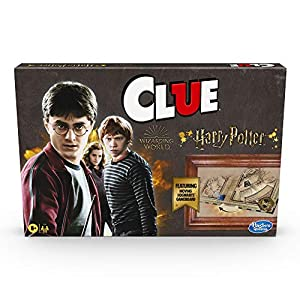 """INSPIRED BY HARRY POTTER: The Clue: Wizarding World Harry Potter edition board game is a suspenseful game of """"whodunit"""" with artwork and characters inspired by the Wizarding World Harry Potter universe WHO, WHAT, WHERE: Kids move around the board as ..."""