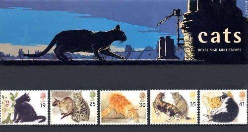 Royal Mail - Sammlerbriefmarken in Blau