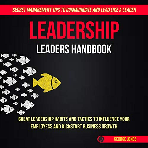 Leadership: Leaders Handbook audiobook cover art