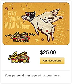 Lucille's Smokehouse Bar-B-Que Gift Cards - E-mail Delivery