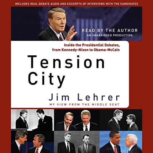 Tension City audiobook cover art
