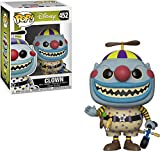 DISNEY MAGIC: From the hit animated movie The Nightmare Before Christmas comes all your favorite characters as stylized Pop! vinyl figures from Funko! COLLECTIBLE SIZE: Figure measures 3 3/4 inches tall - the perfect size for your office desk, home b...