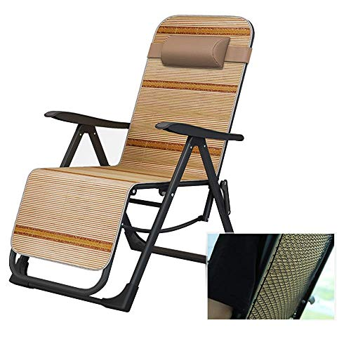 Hxx Rocking Lounger Lounge Chair, Cool Cushion, Protective Steel Mesh, 155° Gravity Chair, Suitable for Summer, Special Design Backrest,A