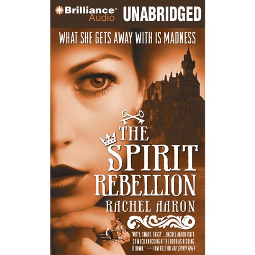 The Spirit Rebellion audiobook cover art