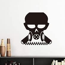 DIYthinker Pollution Biochemical Cyborg Gas Mask Vinyl Wall Sticker Wallpaper Room Decal