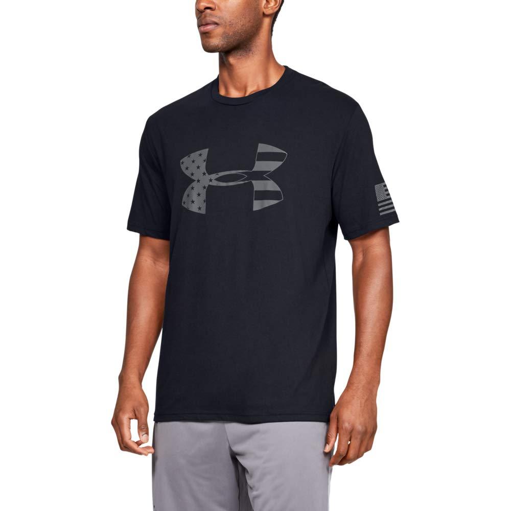 Under Armour Men's Freedom Tonal Big Flag Logo T-Shirt
