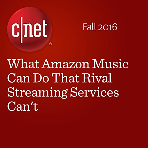 What Amazon Music Can Do That Rival Streaming Services Can't  audiobook cover art
