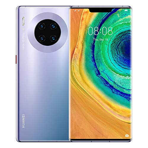 "HUAWEI Mate 30 Pro Space Silver, Quadrupla Fotocamera 40+40+8MP e Sensore TOF 3D, Display Horizon 6.58"", Space Silver, HUAWEI Mobile Services (HMS) anziché i Google Mobile Services (GMS) [ITALIA]"