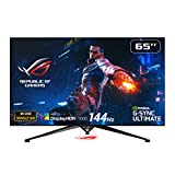 ASUS ROG Swift PG65UQ 164 cm (64,5 Zoll) Gaming Monitor (4K, UHD Premium, 144Hz, G-Sync Ultimate, DisplayHDR 1000, HDMI, DisplayPort, 4ms Reaktionszeit)