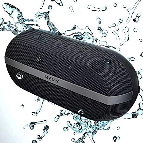INSMY Portable Bluetooth Speakers 20W Wireless Speaker Loud Stereo Sound Rich Bass IPX7 Waterproof product image