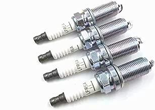 Calixdlf OEM # 22401-ED815 4pcs Iridium Spark Plug Fit For Nissan Micra March Note Tiida X-Trail Cube 22401-ED815