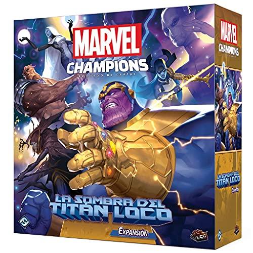 Fantasy Flight Games Marvel Champions - la Sombra del titán Loco