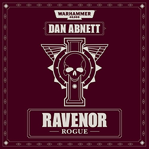 Ravenor Rogue audiobook cover art