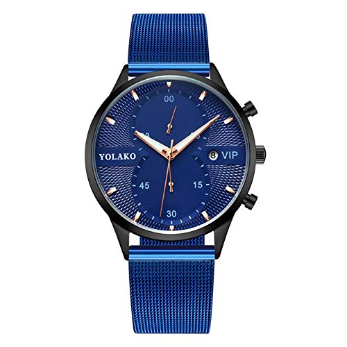 AxiBa relógios femininos pulseira de aço inoxidável relógio de pulso redondo moda relógios femininos