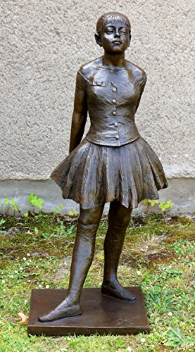 Kunst & Ambiente Gran Figura de Bronce–vierz ehnjährige Bailarinas–Firmada–Edgar Degas Esculturas–100% Bronce–Kleine vierzehnjährige Bailarinas