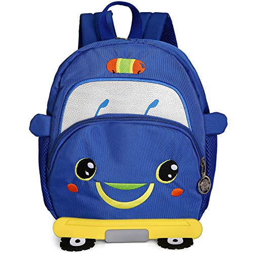 Product Image of the Zoo Small Bee Toddler Backpack with Leash Kids Kindergarten Chest Strap Knapsack
