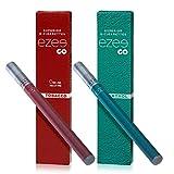 Ezee Go Cigarrillo Electrónico Desechable sabor a Tabaco y Mentol E-Cigarrillo Boquilla Suave 285 mAh Batería Sin Nicotina y sin Tabaco Paquete de 2