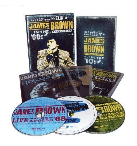BROWN,JAMES I GOT THE FEELIN JAMES BROWN IN THE 60S 3PC