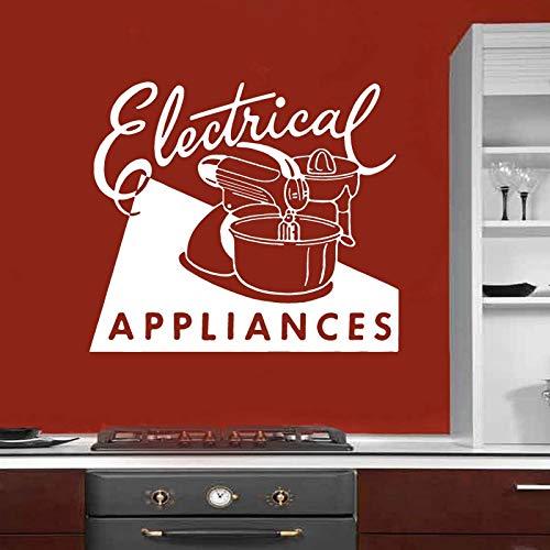 sanzangtang Baker geschenk keuken vinyl sticker wanddecoratie apparaat retro reclame blender restaurant decoratie