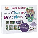 LolliBeads (TM) Make Charm Bracelets Kits 800 pcs Premium Bracelet Jewelry Making Kit Arts and Crafts for...