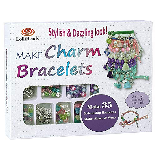 top 10 kid jewelry maker Create 800 LolliBeads (TM) charm bracelet kits.Premium bracelet art and jewelry making set from …
