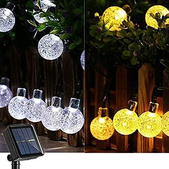 Joomer 39Ft 60 LED Color Changing Solar String Lights