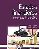 Estados financieros: Interpretación y análisis (Economía y Empresa)
