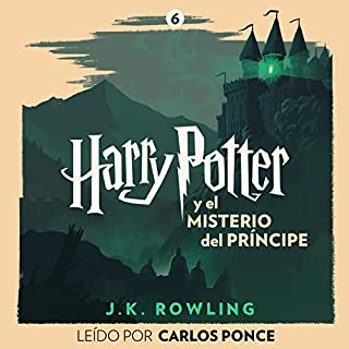 Harry Potter y el misterio del príncipe (Harry Potter 6) audiobook cover art