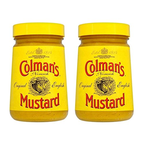 Colman´s Original English Mustard 170g Doppelpack