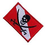Taucherflagge Kleidung Patch zum Aufbügeln oder Nähen, Taucherfahne Patch Sticker DIY Kleidung...