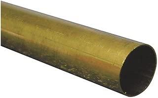 K /& S PRECISION METALS 8129 3//16 x 12 RND BRS Tube